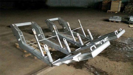 szkielet maszyny do huty aluminium