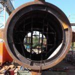ciągi komunikacyjne - konstrukcja stalowa